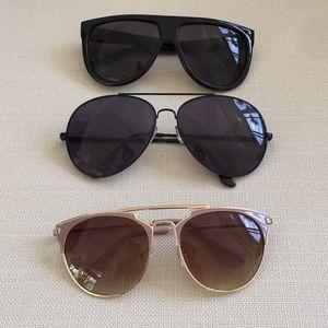 3 pairs of sunglasses!